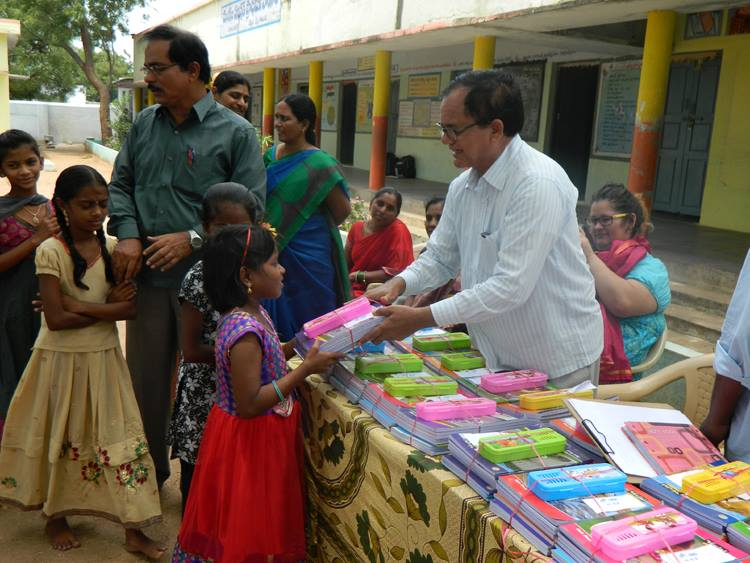 passing out books