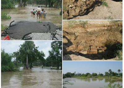 Yerrasanigudem Our Model Village Flooded